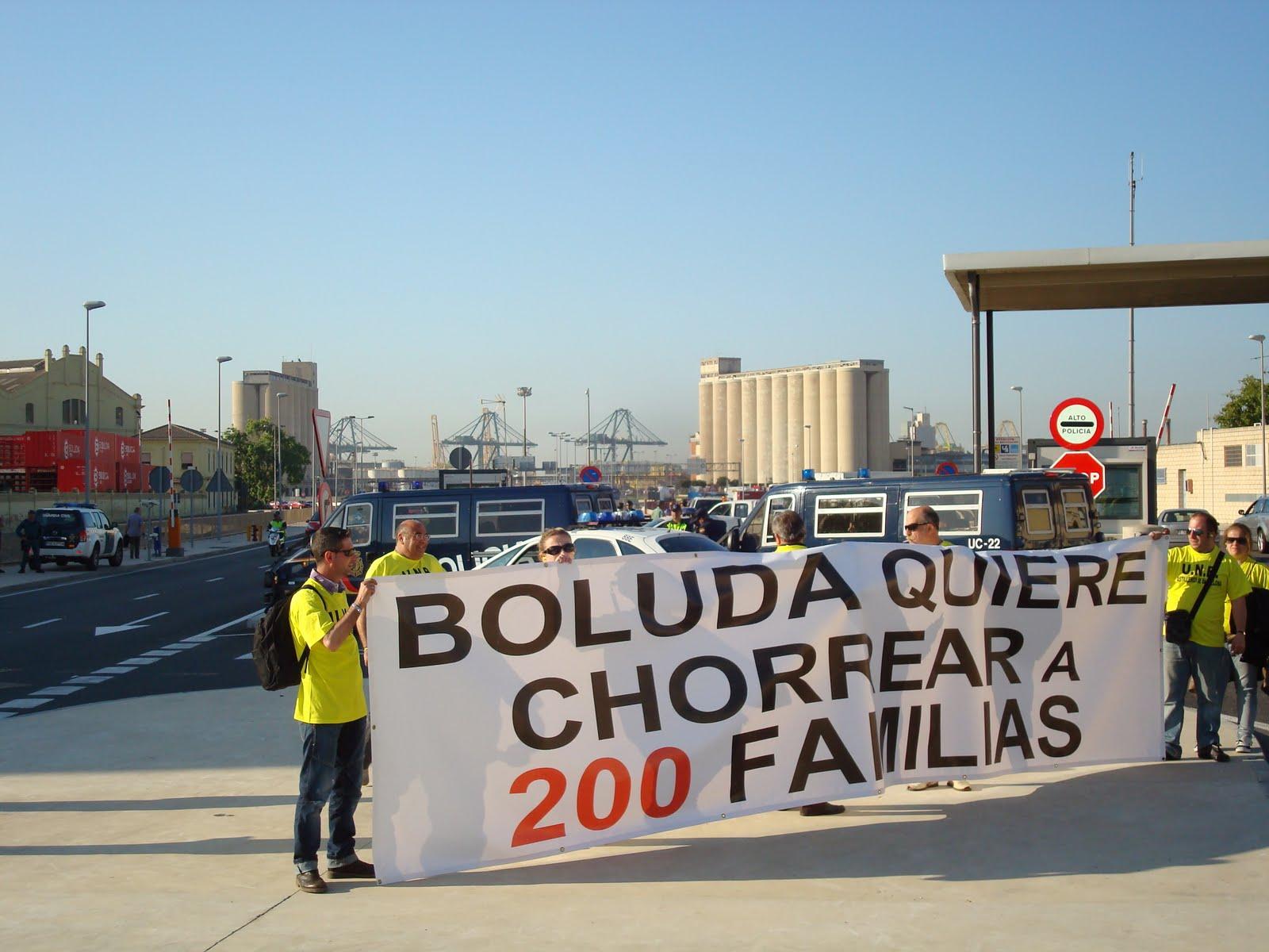 protesta boluda